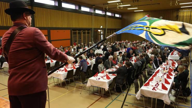 Roland Fürst feierte in der Rüeblihalle in Gunzgen