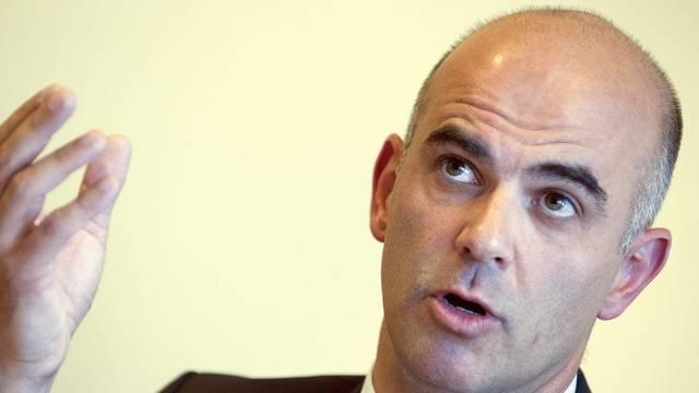 Die SP Freiburg stellt Ständerat Alain Berset als Bundesratskandidaten vor