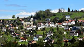 Die Ausserhoder Gemeinde Rehetobel.
