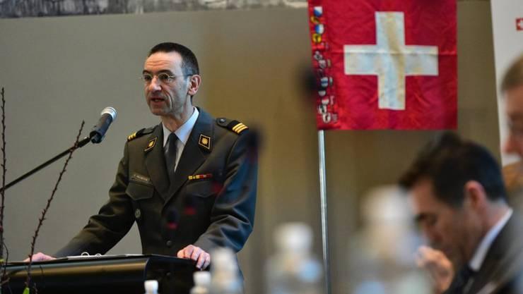 Stefan Holenstein: Der ACS-Direktor ist neu auch Präsident der Offiziersgesellschaft.