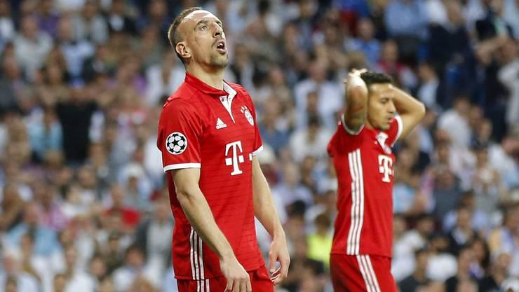 Der Franzose Franck Ribery ist mittlerweile auch schon 34 Jahre alt und längst nicht mehr in Topform.