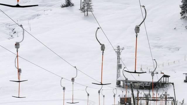 Nach dem Unglück wurde der Skilift abgestellt (Symbolbild)