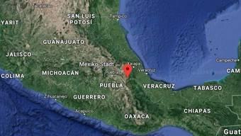 Das Busunglück ereignete sich im Südosten Mexikos in der Gemeinde Maltrata.