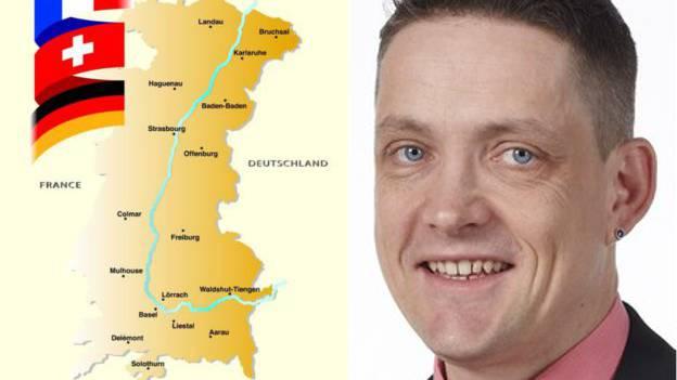 Manuel Friesecke, Geschäftsführer der Regio Basiliensis, sieht die trinationale Oberrheinkooperation in Gefahr.