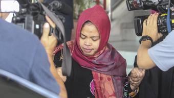 Wurde überraschend freigelassen: Siti Aisyah, eine der beiden Beschuldigten im Fall des Giftmords am Halbbruder von Nordkoreas Machthaber Kim Jong Un.