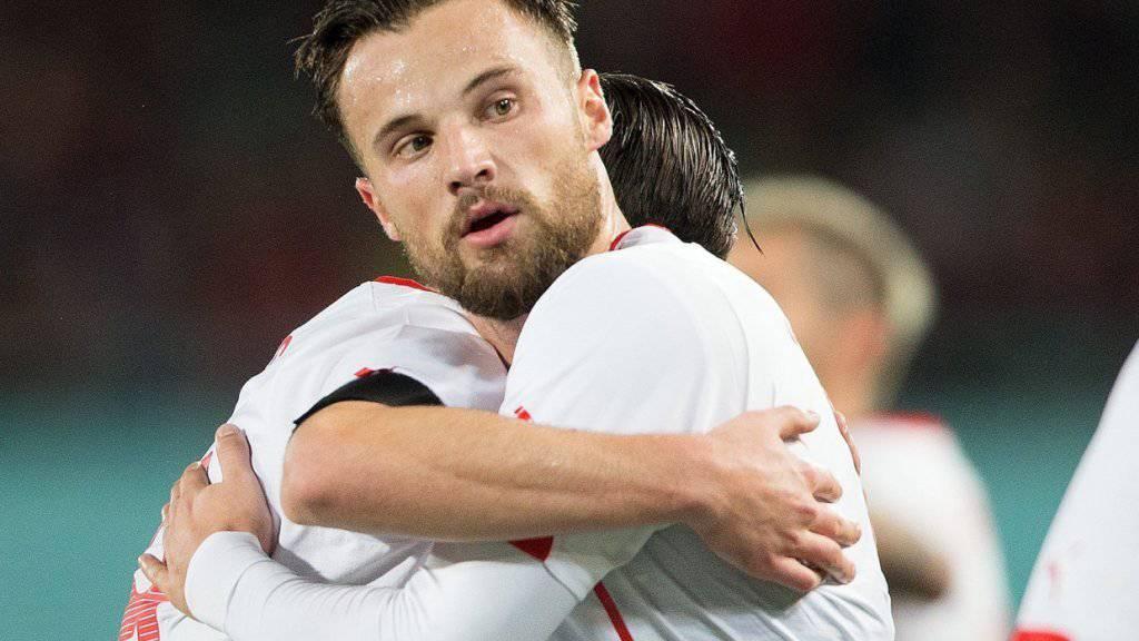 Das Trainerlob für den Schweizer Matchwinner Haris Seferovic