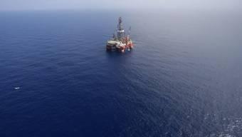 Eine Öl-Plattform im Golf von Mexiko (Symbolbild)