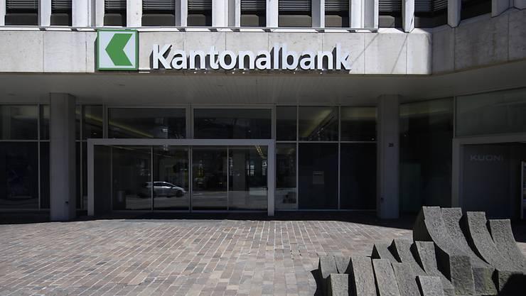 Die St. Galler Kantonalbank plant den Chefwechsel frühzeitig. (Archivbild)