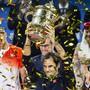 Roger Federer strebt bei der 50. Ausgabe der Swiss Indoors in Basel seinen zehnten Sieg an. Vor einem Jahr gewann er den Final gegen den Rumänen Marius Copil nach Rückstand in beiden Sätzen in 94 Minuten 7:6 (7:5), 6:4