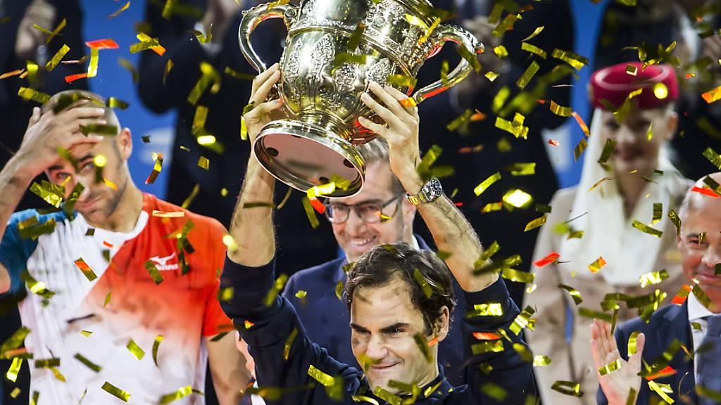 Roger Federer auch mit 38 Jahren der Favorit