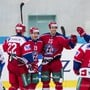 Eishockey Ajoie und Rapperswil-Jona Lakers