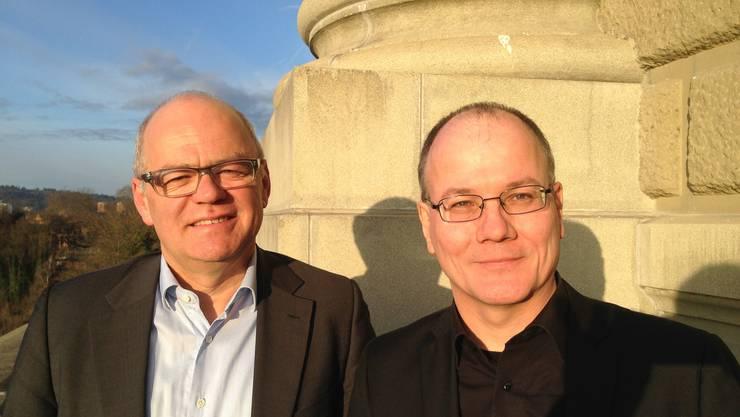 NR Andy Tschümperlin und NR Max Chopard-Acklin berichten von der Sondersession.