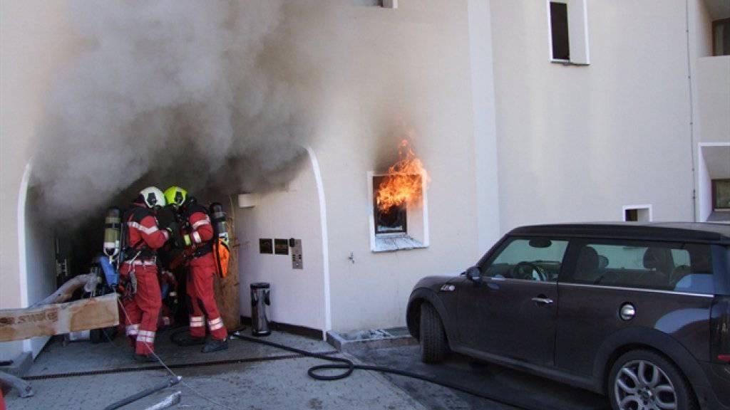 Der Brand im Hotel Surlej machte den Feriengästen einen dicken Strich durch ihre Feiertagsferien.