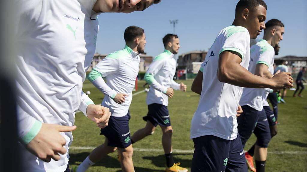 Die Schweizer U21 vor dem EM-Schlüsselspiel gegen Portugal