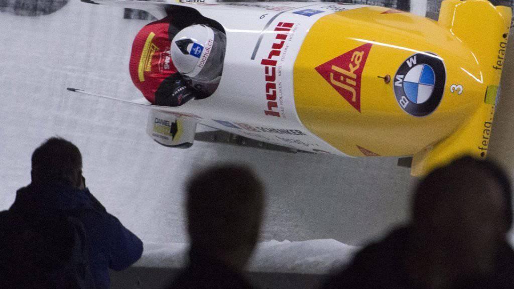 Diesmal nicht auf Podestkurs: Rico Peter und Thomas Amrhein läuft es im zweiten Rennen von Whistler weniger gut als am Vortag