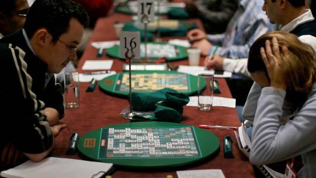 Alle zwei Jahre finden Scrabble-Weltmeisterschaften statt - wie hier in London im Jahr 2005 (Archiv)