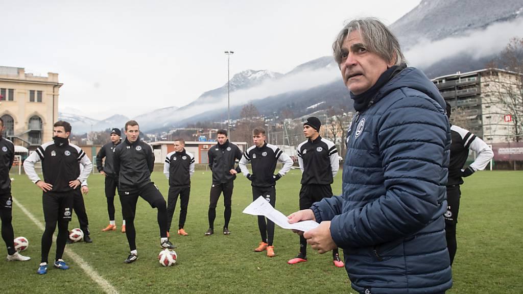 Maurizio Jacobacci und der FC Lugano starten mit höheren Erwartungen ins neue Jahr