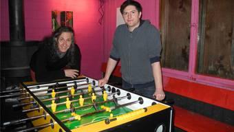 Angelo Zurlino und Dario Hauri leiten die offene Jugendarbeit Frick, Gipf-Oberfrick und Wittnau seit Anfang Jahr gemeinsam. nbo