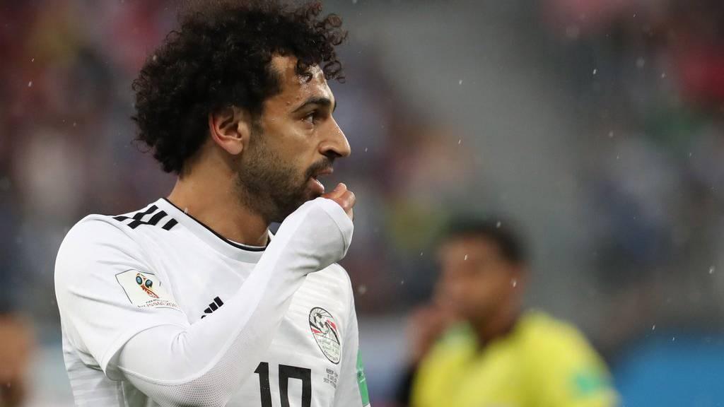 Ägypten-Star Mo Salah hat sein erstes WM-Tor bereits geschossen.