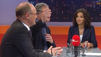 Die wichtigsten Momente der ersten TV-Debatte zum Aargauer Ständeratswahlkampf.