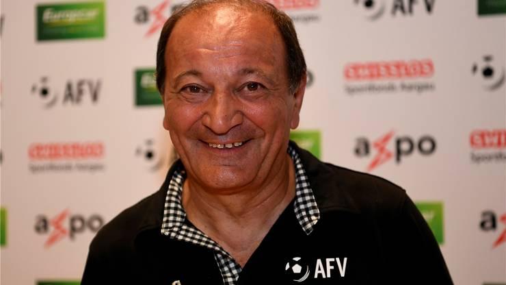AFV-Präsident Luigi Ponte kennt Ghitti bereits seit über 30 Jahren.