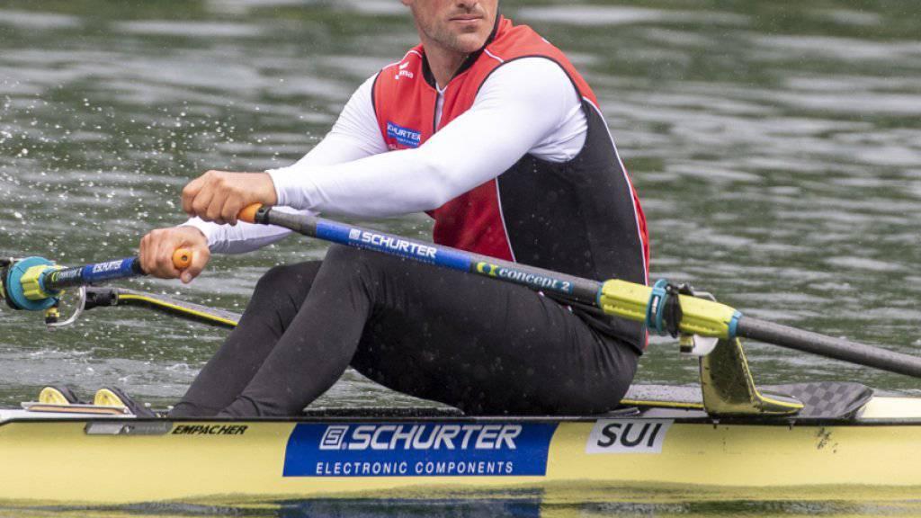 Nico Stahlberg vertritt die Schweiz im Skiff
