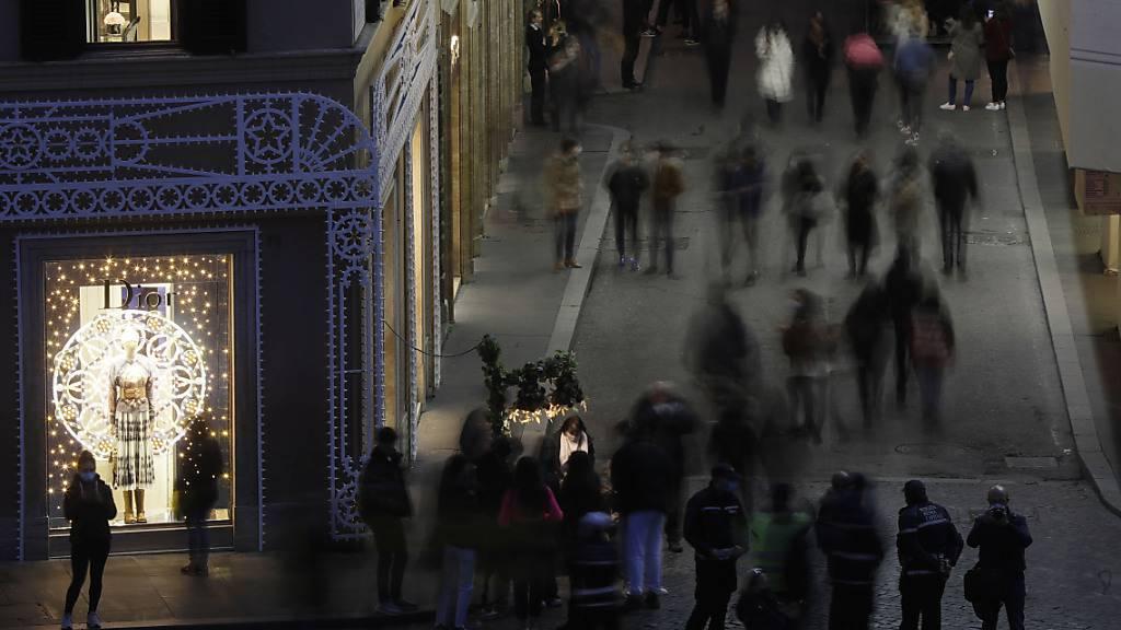 Italien lockert Massnahmen in mehreren Regionen