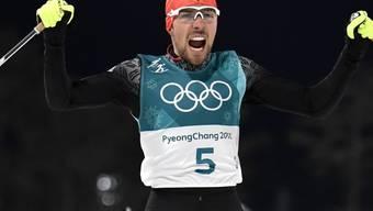 Gewann nach Einzel- auch Team-Gold: Johannes Rydzek aus dem deutschen Team der Nordisch-Kombinierer