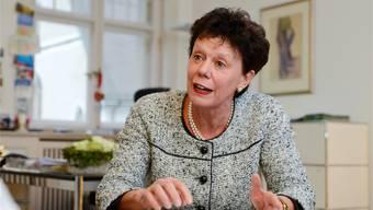 Gibt fehlende Sensibilität zu: Volkswirtschaftsdirektorin Esther Gassler.
