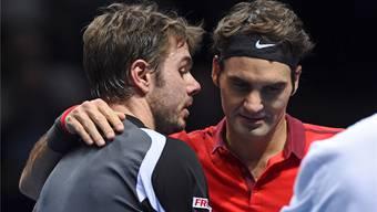 Sowohl Stan Wawrinka als auch Roger Federer wollen in London kurz vor Saisonschluss noch einmal angreifen.