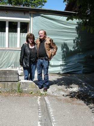 Ruth Meister und ihr Mann, Urs Leuenberger