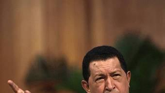 Staatschef Hugo Chávez (Archiv)