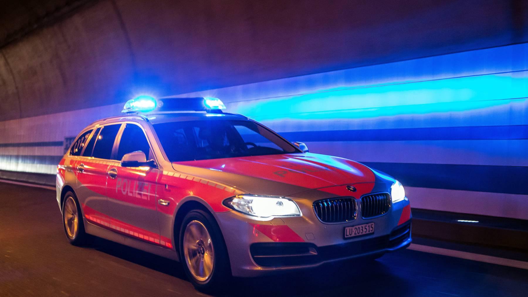 Luzerner Polizei im Einsatz (Symbolbild)