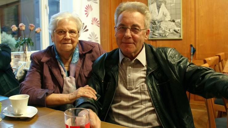 Susanne und Werner Born durften für ihre langjährige Treue geehrt werden