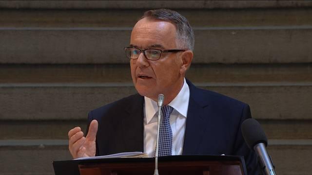 Markus Gilli würdigt Pfarrer Sieber