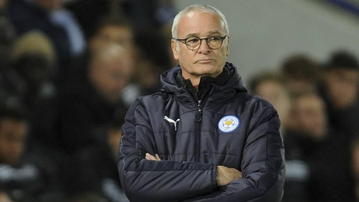 Claudio Ranieri wurde am Donnerstagabend nach dem Spiel gegen Sevilla entlassen.