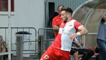Emmanuel Mast erzielte in vier Spielen für den FC Solothurn zwei Tore.