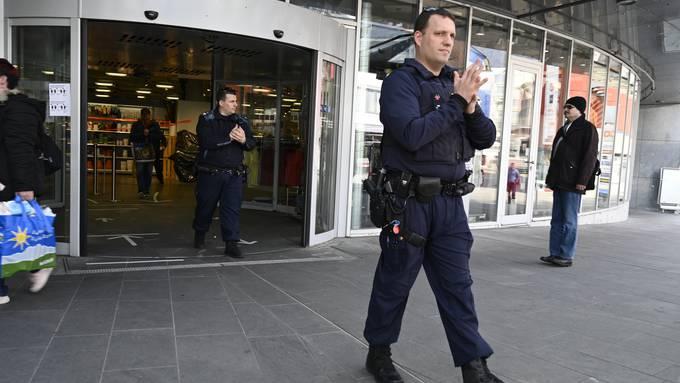 Corona-Streife mit der Stadtpolizei Grenchen