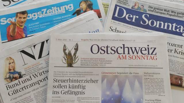 Die Sonntagszeitungen widmen sich der Bezieung Schweiz - EU