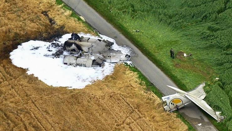 Flugzeugabsturz in Überlingen