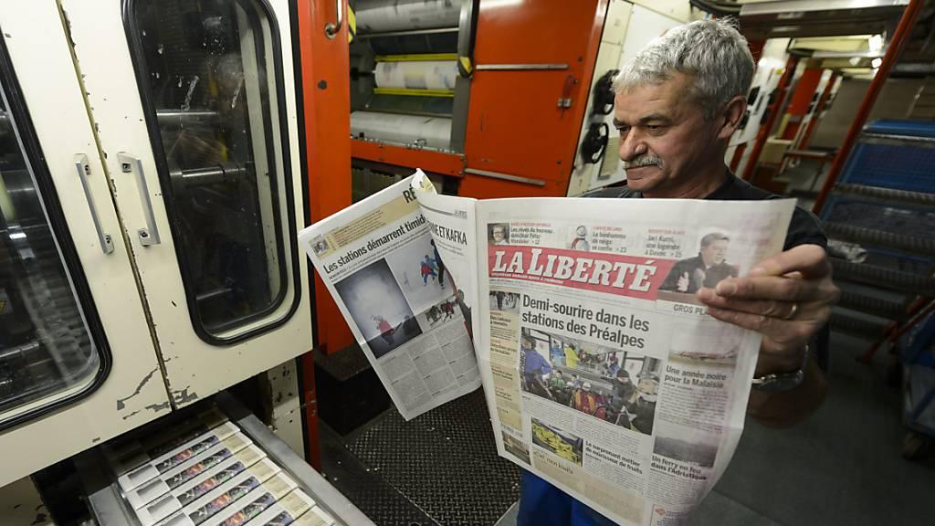 Freiburger Tageszeitung «La Liberté» wird 150-jährig