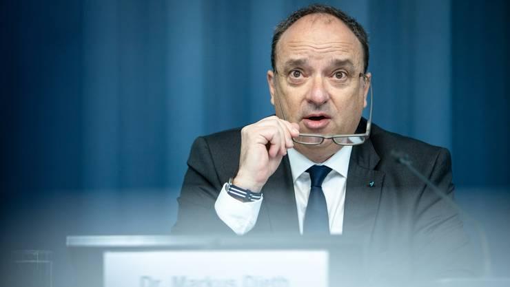 Der Aargauer Finanzdirektor Markus Dieth. (Archiv)