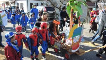 Kinderumzug in Ennetbaden 2017