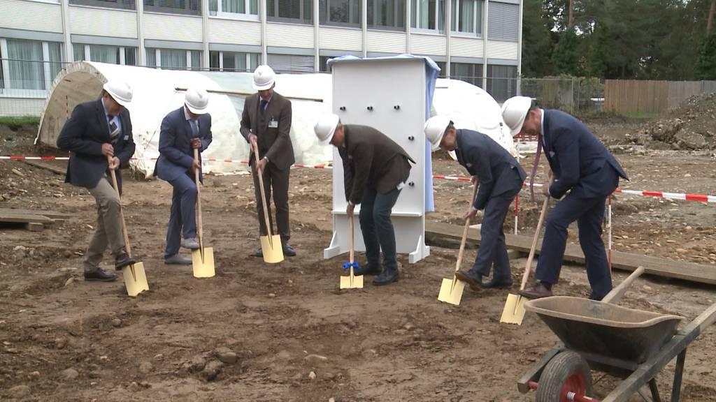 Spatenstich für neue forensische Abteilung der Klinik Königsfelden