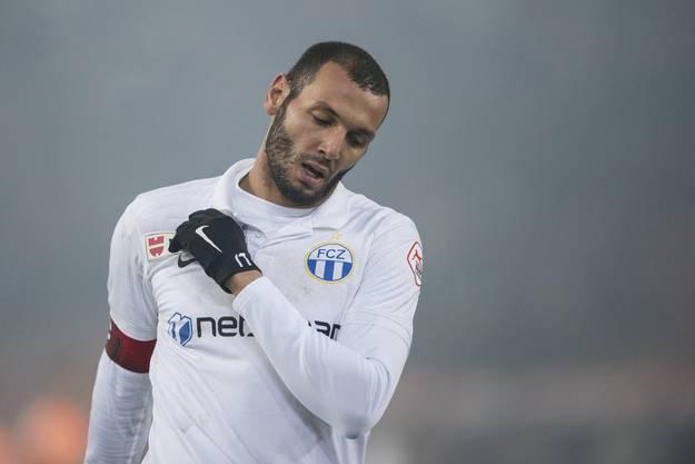 FCZ-Kicker Yassine Chikhaoui.