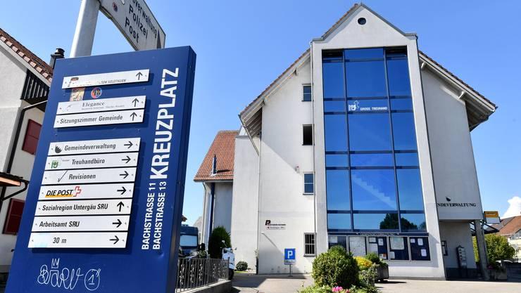 Der Finanzplan 2020–2024 der Gemeinde Hägendorf sieht für die kommenden Jahr nur Defizite vor (im Bild das Gemeindehaus).