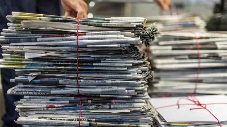 Illegal entsorgtes Altpapier ist ein Problem.