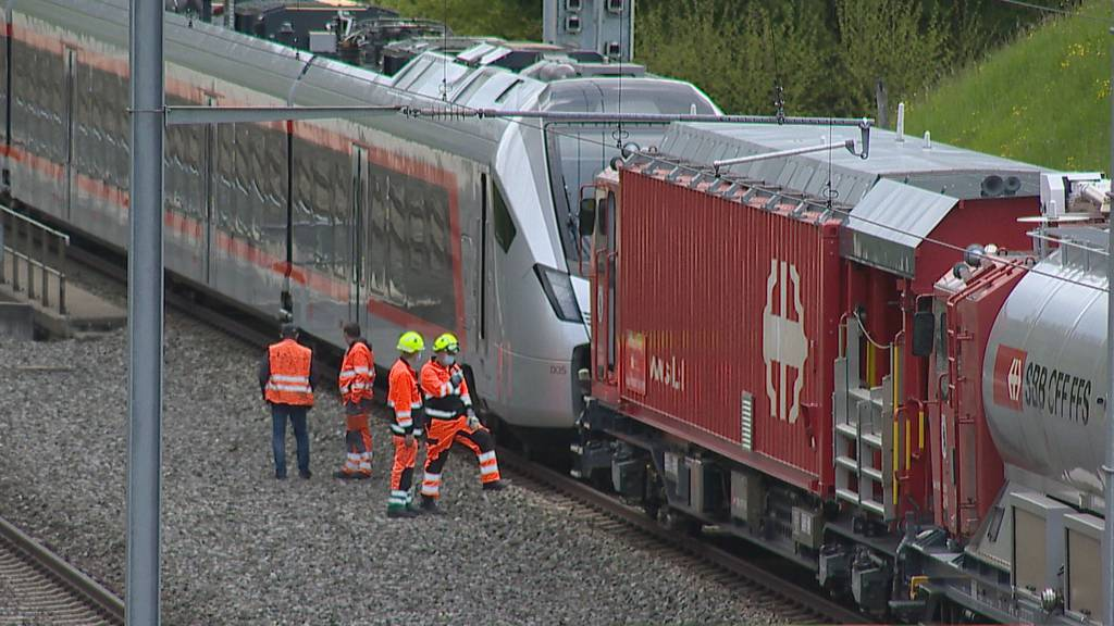 Rauch auf Voralpen-Express – SOB-Strecke war unterbrochen