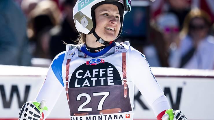 Priska Nufer gewinnt beim Europacup-Finale in Italien die Abfahrt
