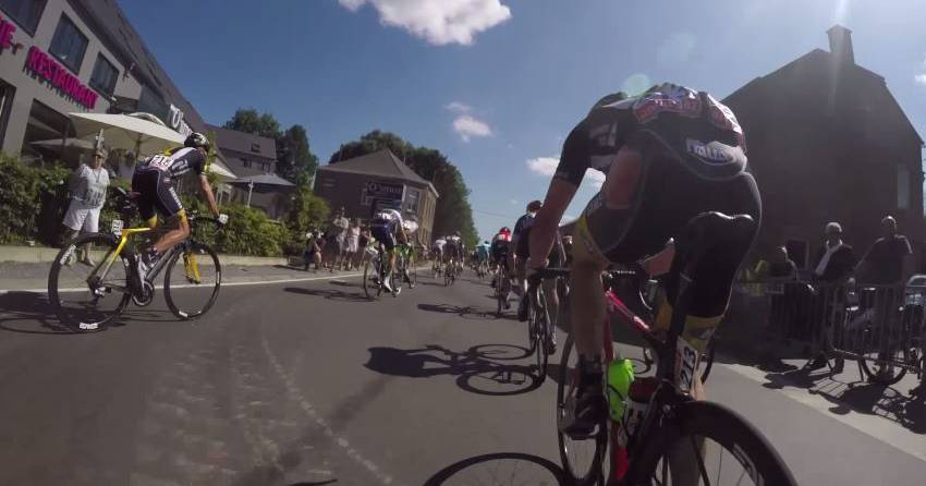 GoPro-Video: Die Tour de France aus der Fahrer-Perspektive.